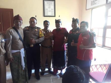 Penetapan calon perbekel Desa Sanggalangit sekaligus pengundian no urut